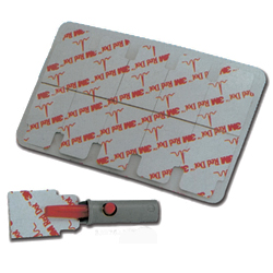 ELETTRODI RED DOT 3M 2330 - 3,2x2,2cm - conf.100pz