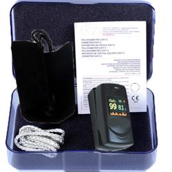 PULSOSSIMETRO SATURIMETRO DA DITO OXY 6 - allarmi sonori e visivi - adulti