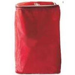BORSETTA / ASTUCCIO PER PALLONI AMBU in nylon - 18,5x15xh.30 - rossa
