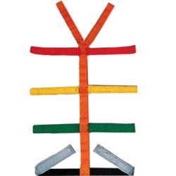 CINTURA RAGNO - TIPO FISSO NON SCORREVOLE - per barelle / estricatori - mis.5x46xh.183cm