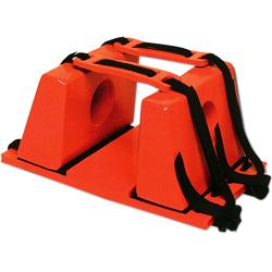 FERMATESTA  STOP per tavola spinale - arancio o nero