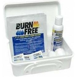 BURN KIT- set per ustioni scottature - valigetta