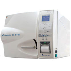 AUTOCLAVE PER STERILIZZAZIONE TECNO GAZ EUROPA B EVO - CLASSE B - capacità 15lt