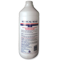 SAPONE LIQUIDO MANI DISINFETTANTE ANTIBATTERICO - GERMOCYD SOAP - 1lt
