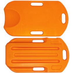 TAVOLA CPR RES-Q-BOARD per esercitazioni al massaggio cardiaco -  arancio o giallo