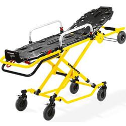 BARELLA SEMIAUTOMATICA MULTILIVELLO ENDURO T - peso 48kg - portata 250kg - piano nero / telaio giallo