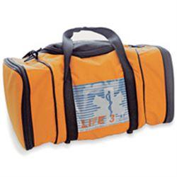 BORSA EMERGENZA SOCCORSO LIFE BAG 3 - 40xh.23cm - vuota - arancione