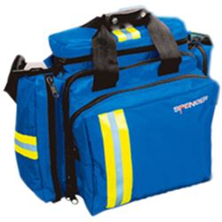 BORSA EMERGENZA SOCCORSO BLUE BAG 2 - 42xh.34cm - vuota - blu