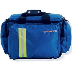 BORSA EMERGENZA SOCCORSO MULTIUSO BLUE BAG 3 - 45,5xh.32 - vuota - blu