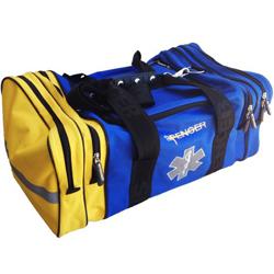 BORSA EMERGENZA SOCCORSO CO-BAG - 57x21xh.32cm - vuota - blu/gialla