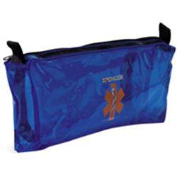 BORSETTA / ASTUCCIO T1 PER INTUBAZIONE in nylon antistrappo - 33x2xh.14cm - blu
