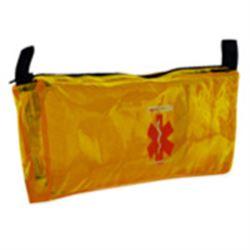 BORSETTA / ASTUCCIO T3 PER INFUSIONE in nylon antistrappo - 33x2xh.14cm - arancione
