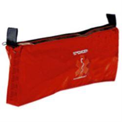 BORSETTA / ASTUCCIO T4 PER VENTILAZIONE in nylon antistrappo - 33x2xh.14cm - rossa