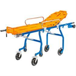 BARELLA AUTOCARICANTE ELLA SELF T SILVER / BLU - 197x57xh.27cm - peso 34kg - portata 160kg
