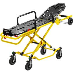 BARELLA SEMIAUTOMATICA MULTILIVELLO ENDURO TF - 197x57xh.78cm - peso 45kg - portata 250kg - piano nero / telaio giallo