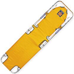BARELLA PIEGHEVOLE modello 310 - con schienale - 187x48xh.12,5cm - peso 6,5kg - portata 170kg - arancio / military