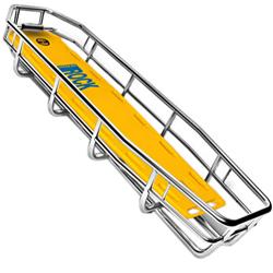 BARELLA BASKET BOSTON PRO con tavola spinale - 211x65xh.21cm - peso 16,5kg - portata 360kg