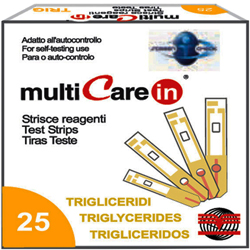 MULTICARE IN - STRISCE TRIGLICERIDI - conf.5pz + chip