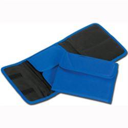 BORSETTA AMPOLLARIO ASTUCCIO PORTAFIALE MINI in cordura - 19,5x15xh.3cm - x12fiale/provette - blu