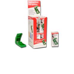TAGLIAPILLOLE / FRANTUMA PILLOLE BULK - con scatoletta - conf.12pz - vari colori