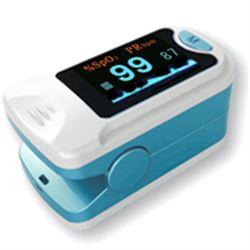 PULSOSSIMETRO SATURIMETRO DA DITO OXY 3 - con onda pletismografica - adulto e pediatrico