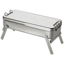 BOLLITORE A FIAMMA VIVA in acciaio inox - 18x8xh.4cm