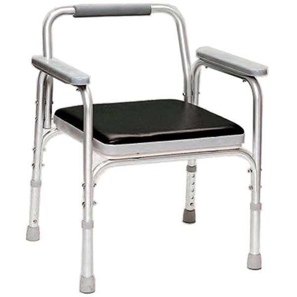 Sedia comoda wc in alluminio altezza regolabile peso for Altezza sedia