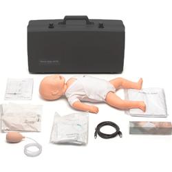 MANICHINO BLS RCP SIMULATORE PRIMO SOCCORSO RESUSCI BABY FIRST AID - con borsa