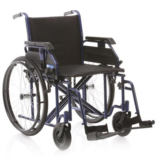 Sedia a rotelle comby mille carrozzina pieghevole ad for Misure cuscino carrozzina