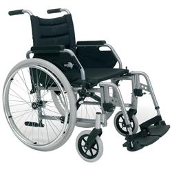 Sedia a rotelle carrozzina eclips leggera resistente for Larghezza sedia a rotelle