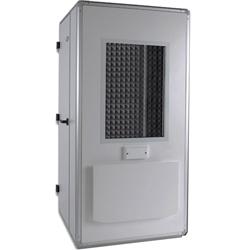 CABINA AUDIOMETRICA - 32 dB - ventilazione interna - cm 106x106x218