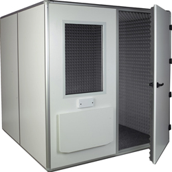 CABINA AUDIOMETRICA - 32 dB - ventilazione interna - cm 209x209x218