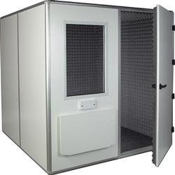 CABINA AUDIOMETRICA - 32 dB - ventilazione interna - 209x209xh.245cm