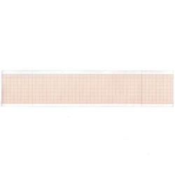 ROTOLO CARTA TERMICA ECG CARDIOPOCKET 50mm x 25 m - griglia arancione - conf.20pz