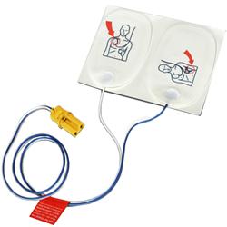 COPPIA DI ELETTRODI ADULTO - per defibrillatori TRAINER PHILIPS / LAERDAL mod. FR2 / FR2+