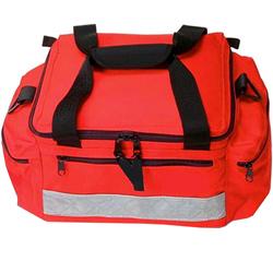 BORSA EMERGENZA SOCCORSO RIANIMAZIONE PROFI BAG MINI - 38x26xh.20cm - vuota - rossa