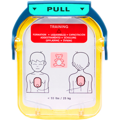 COPPIA DI ELETTRODI TRAINING PEDIATRICHE - per defibrillatore Philips HS1