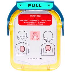 COPPIA PIASTRE ELETTRODI DIDATTICI TRAINER per addestramento per PHILIPS HS1 - pediatriche