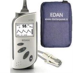 SATURIMETRO PALMARE EDAN H100 COMPATIBILE NELLCOR - con sensore a dito adulto e custodia