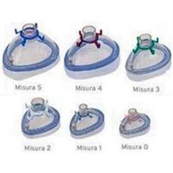MASCHERA RIANIMAZIONE IN PVC MONOUSO - varie misure